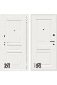 Входная металлическая дверь Райтвер Х4 Белый матовый