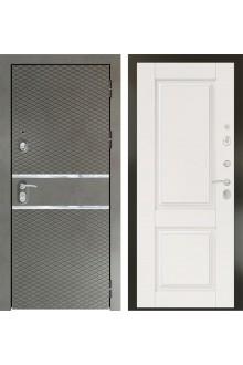 Входная металлическая дверь Кондор Плаза 3К Графит софт - Крем