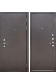 Входная металлическая дверь Ратибор Зима 2К (Антик капучино)