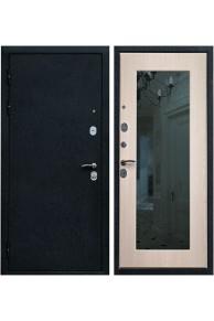 Входная металлическая дверь Ратибор Милан с зеркалом (Беленый дуб)