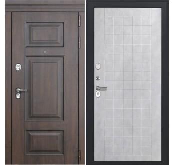 Входная металлическая дверь Luxor 21 ФЛ 256 бетон снежный пвх