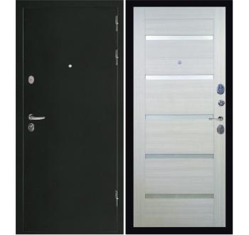 Входная  металлическая дверь Президент Х7 антик хамелеон-сандал белый