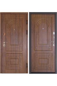 Входная металлическая  дверь дверной Континент  Флоренция Золотой Дуб