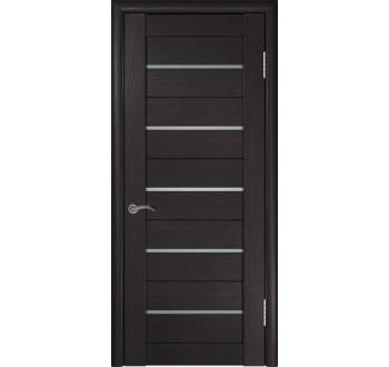 Межкомнатная дверь  экошпон ЛУ-22 (Венге)