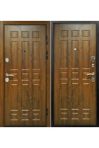 Входная уличная  дверь Снедо Спарта Винорит