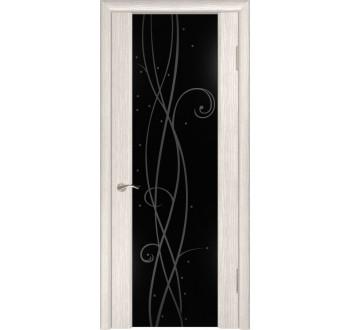 Межкомнатная дверь  экошпон ЛУ-42 (Капучино)