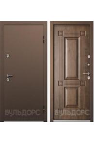 Входная металлическая с терморазрывом ТермоБУЛЬ -1 Грецкий Орех