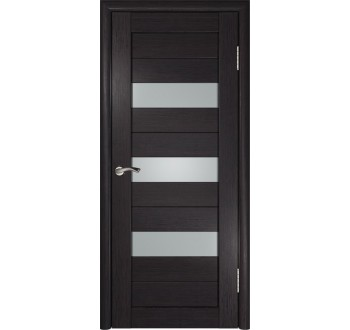 Межкомнатная дверь  экошпон ЛУ-23 (Венге)