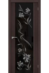 Межкомнатная дверь с Эко шпоном S-13 Print venge veralinga