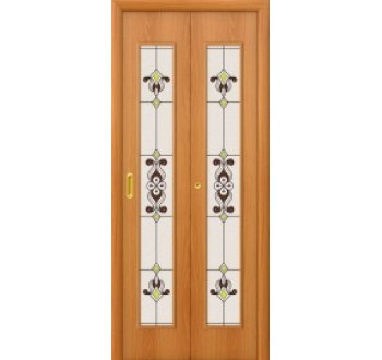 Межкомнатная дверь книжка 23Х Миланский Орех