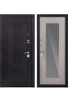 Входная  металлическая дверь Италия 3 к с зеркалом