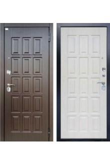 Входная  металлическая сейф дверь Аргус  Стиль ДА-41 Капучино