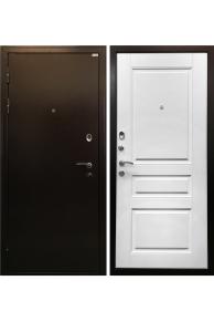 Входная металлическая дверь Ратибор Статус белый ясень