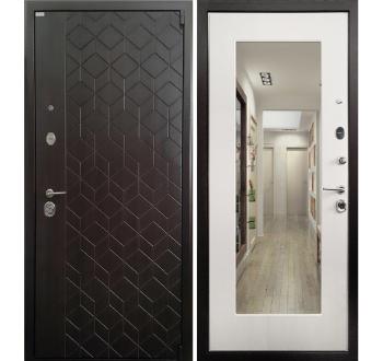 Входная металлическая дверь Ратибор Квант 3К Лиственница беж