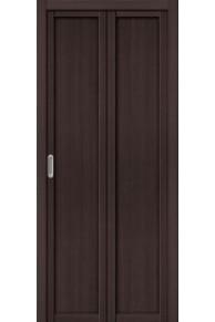 Складная дверь с Экошпоном Твигги M1 Wenge Veralinga
