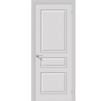 Межкомнатная окрашенная дверь Опера ПГ Белый