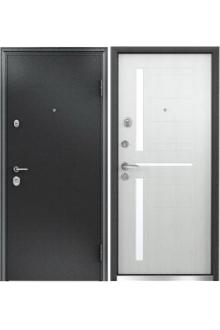 Входная  металлическая дверь Бульдорс 24 new дуб беленый Е-2