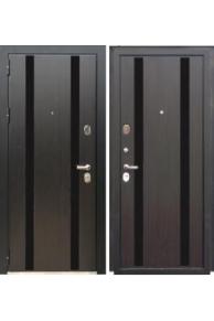 Входная  металлическая дверь Зетта ПРЕМЬЕР 100 КБ1  венге кантри