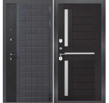 Входная металлическая дверь Luxor 34 СБ 5 венге экошпон