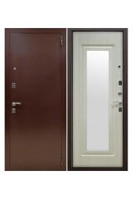 Входная металлическая дверь Снедо Царское Зеркало-Беленый дуб