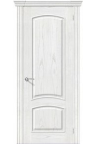Межкомнатная шпонированная дверь Амальфи ПГ Жемчуг