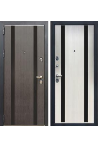 Входная металлическая дверь Зетта ПРЕМЬЕР100 К2  лиственница беж.