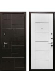 Входная металлическая дверь  Ратибор Омега 3К Белый ясень