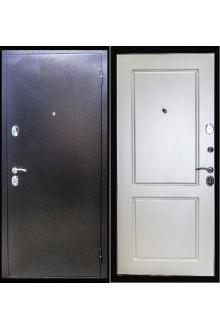 Входная металлическая дверь ZMD Хамелеон Белый шёлк