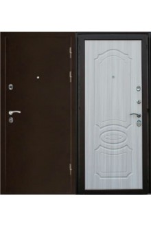 Входная металлическая дверь Сталь 95 Кинг сандал светлый