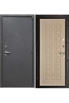 Входная  металлическая дверь Рим беленный дуб стандарт