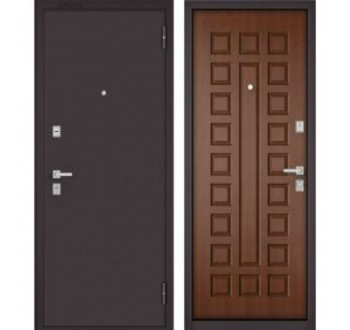 Входная металлическая дверь Бульдорс МАСС 70 дуб золотой M-100