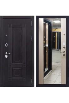Входная металлическая дверь Италия 3К Стиль с Зеркалом