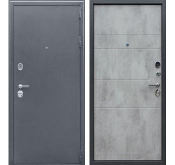 Входная металлическая дверь АСД Спартак бетон.