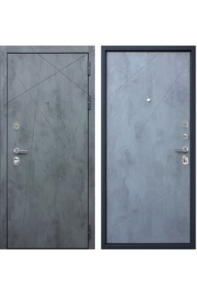 Входная металлическая дверь АСД Дуэт бетон