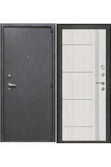 Входная  металлическая дверь Рим пвх светлый дуб Стайл