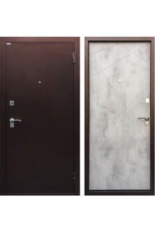 Входная металлическая дверь Ратибор Рубеж Бетон светлый