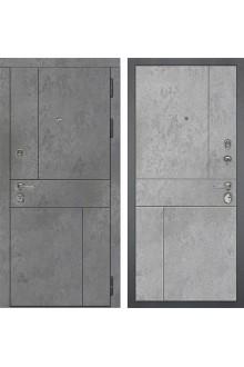 Входная металлическая дверь Сударь МД-48 М-1 Бетон Темный-Бетон Светлый