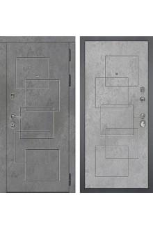 Входная металлическая дверь Сударь МД-48 М-2 Бетон Темный-Бетон Светлый
