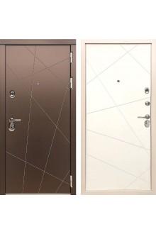 Входная металлическая дверь Сударь  МД-50 Белый софт