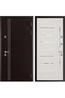 Входная дверь с терморазрывом Норд 2 Лайт 2110 Муар коричневый