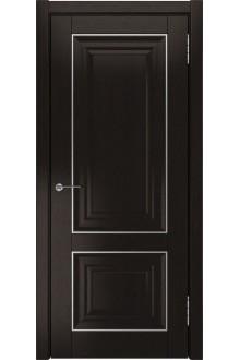 Межкомнатная дверь ЛУ-61 (Дуб темный, дг)