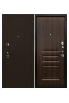 Входная  металлическая дверь  Ратибор Троя 3К Орех бренди