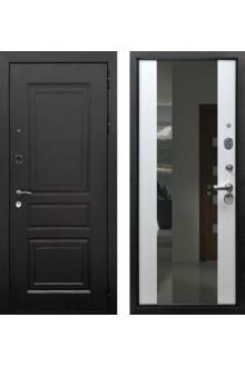 """Входная металлическая дверь Rex 6 с зеркалом """"Белый ясень"""""""