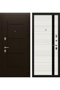 Входная металлическая дверь Кондор Райтвер Цезарь Белая эмаль