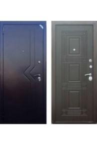 Входная дверь ZETTA Комфорт 2  Венге комплектация Д1