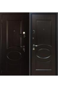 Входная металлическая дверь Бульдорс 45 new Лиственница шоколад