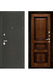 Входная дверь Колизей антик серебро - Барселона BRANDY