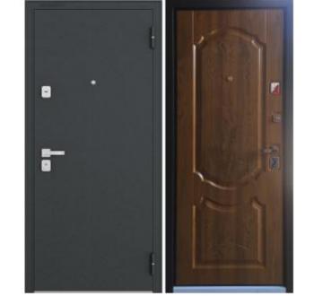 Входная  металлическая дверь Бульдорс 44 медовый дуб N-1