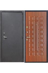 Входная  металлическая дверь Рим орех стандарт