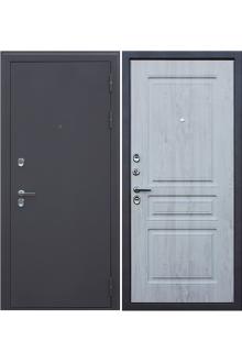 Входная металлическая дверь с терморазрывом «Термо 3К NEW» сосна белая